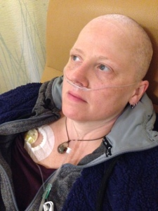 leah with chemo